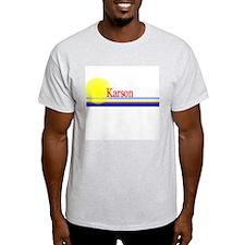 Karson Ash Grey T-Shirt