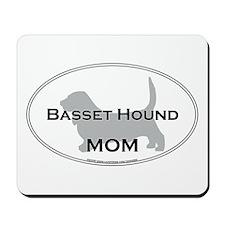 Basset Hound MOM Mousepad