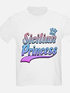 Classic Sicilian Princess Kids T-Shirt