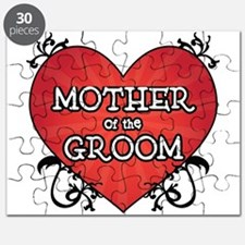 Tattoo Heart Mother Groom Puzzle
