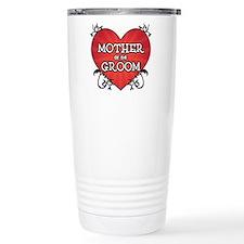 Tattoo Heart Mother Groom Travel Mug