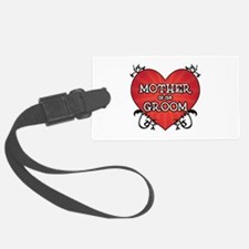Tattoo Heart Mother Groom Luggage Tag