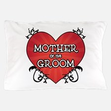 Tattoo Heart Mother Groom Pillow Case