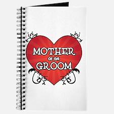 Tattoo Heart Mother Groom Journal