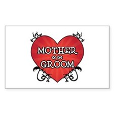 Tattoo Heart Mother Groom Decal
