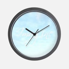 *Imagine* Wall Clock