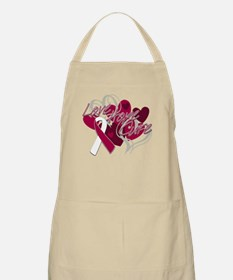 Throat Cancer Love Hope Cure Apron