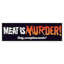 Scrumptious Murder Bumper Sticker