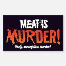 Scrumptious Murder Decal