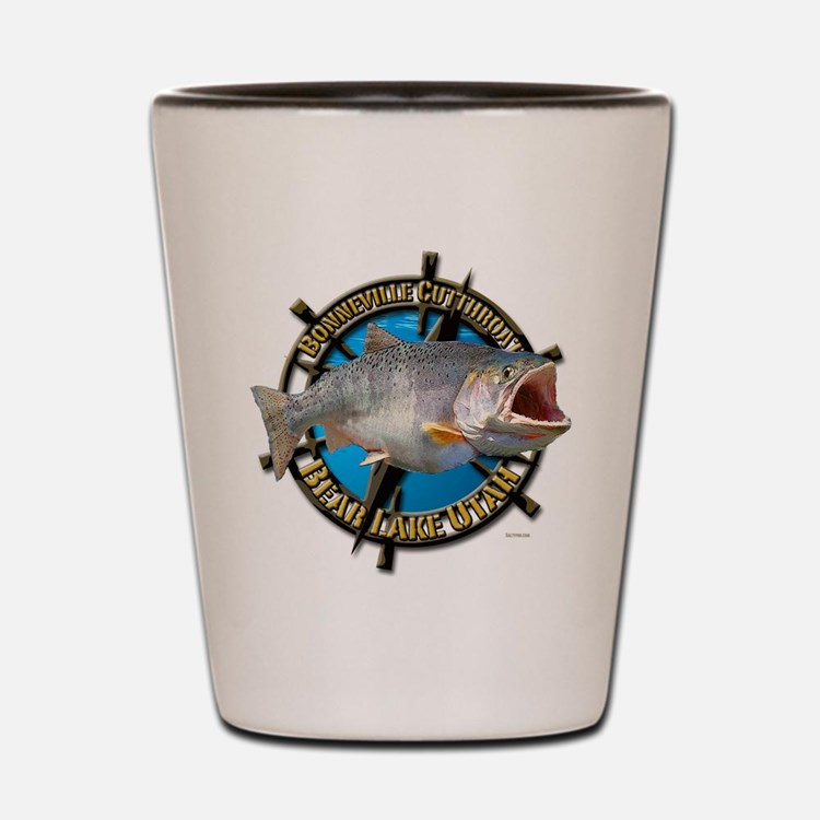 Captain Jack's Fishing charters Shot Glass