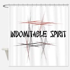 Martial Arts Indomitable Spirit Shower Curtain