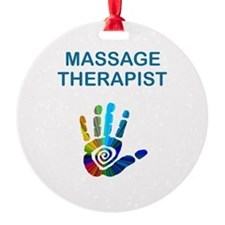 MASSAGE THERAPIST Ornament