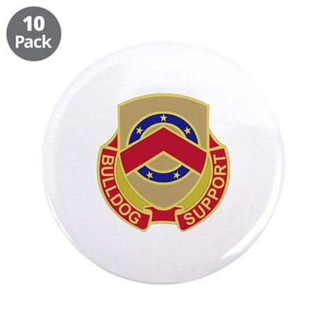 """DUI - 125th Support Battalion 3.5"""" Button (10 pack"""