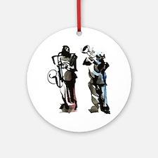 Jazz musicians Ornament (Round)