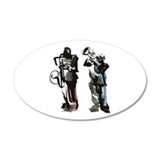 Jazz musicians Wall Decal