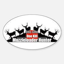 Muzzleloader Decal