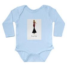 Sassy Lady! Long Sleeve Infant Bodysuit