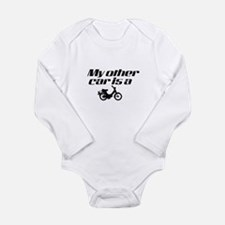 My other car is a Moped Long Sleeve Infant Bodysui