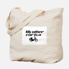 My other car is a Moped Tote Bag