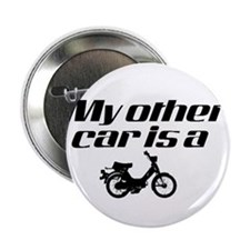 "My other car is a Moped 2.25"" Button"