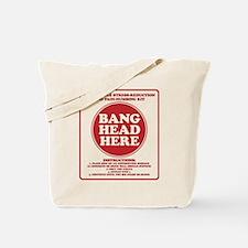 Bang Head Here Stress Reduction Kit Tote Bag