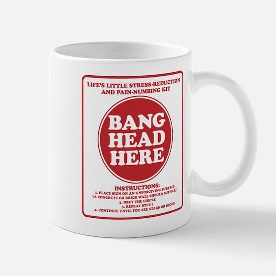Bang Head Here Stress Reduction Kit Mug