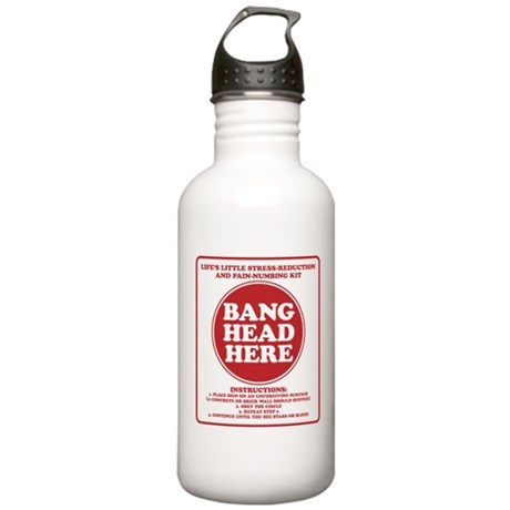 Bang Head Here Stress Reduction Kit Stainless Wate