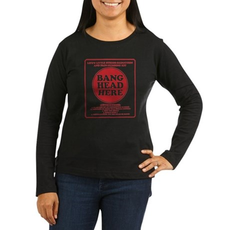 Bang Head Here Stress Reduction Kit Women's Long S