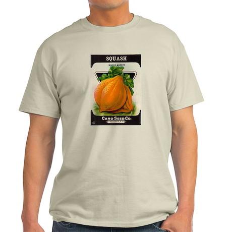 Antique Seed Packet Art Squash Ash Grey T-Shirt