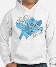 Thyroid Disease Love Hope Cure Hoodie