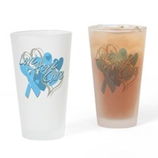 Thyroid Disease Love Hope Cure Drinking Glass