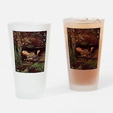 John Everett Millais Ophelia Drinking Glass