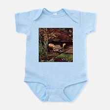 John Everett Millais Ophelia Infant Bodysuit