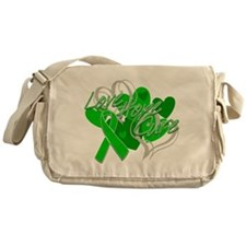 Spinal Cord Injury Love Hope Cure Messenger Bag
