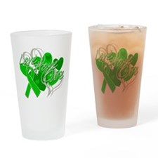 Spinal Cord Injury Love Hope Cure Drinking Glass