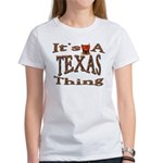 Texas Women's T-Shirt