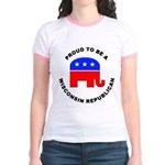 Wisconsin Republican Pride Jr. Ringer T-Shirt
