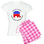 Wisconsin Republican Pride Women's Light Pajamas