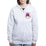 Wisconsin Republican Pride Women's Zip Hoodie
