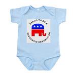 Wisconsin Republican Pride Infant Bodysuit