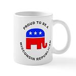 Wisconsin Republican Pride Mug
