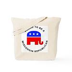 Wisconsin Republican Pride Tote Bag
