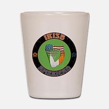 Irish American Harp Shot Glass