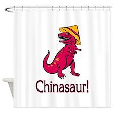 Chinasaur Shower Curtain