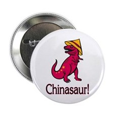 "Chinasaur 2.25"" Button (100 pack)"