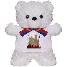 Philly Skyline hot Teddy Bear