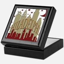 Philly Skyline hot Keepsake Box