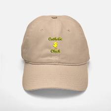 Catholic Chick Baseball Baseball Cap
