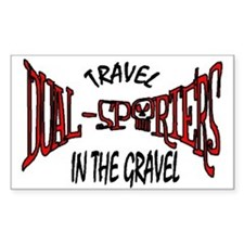 Travel in the Gravel Decal