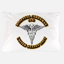 Navy - Rate - HM Pillow Case